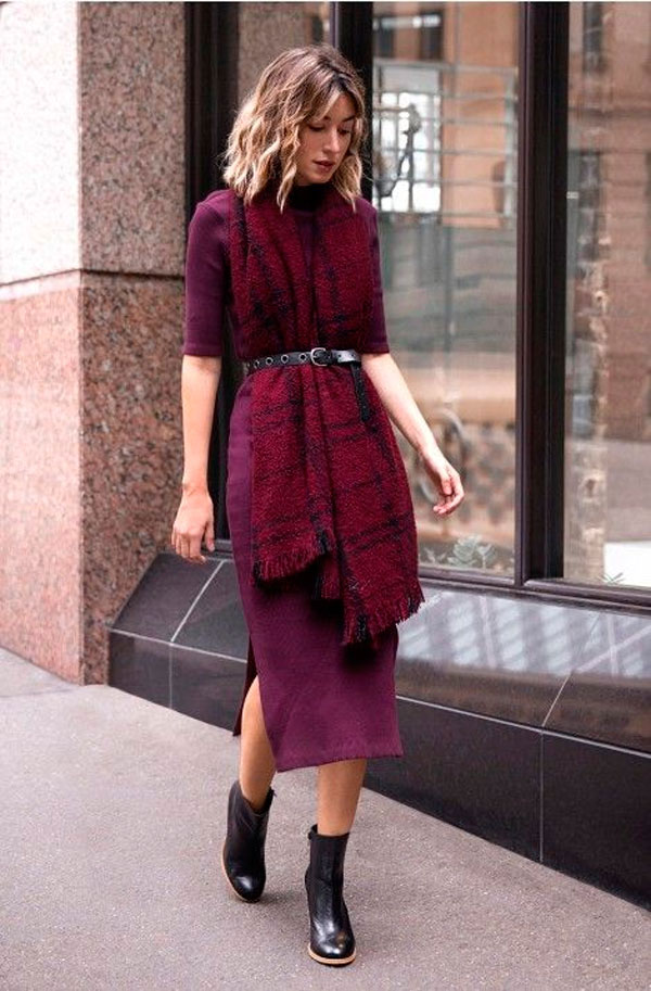 vestido inverno
