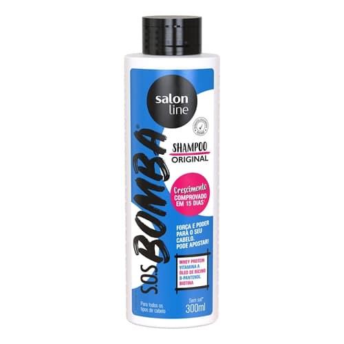 melhores shampoos nacionais para crescimento: Shampoo SOS Bomba Vitaminas Unit - Salon Line