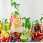água aromatizada