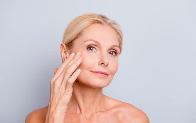 óleo de rícino na pele do rosto