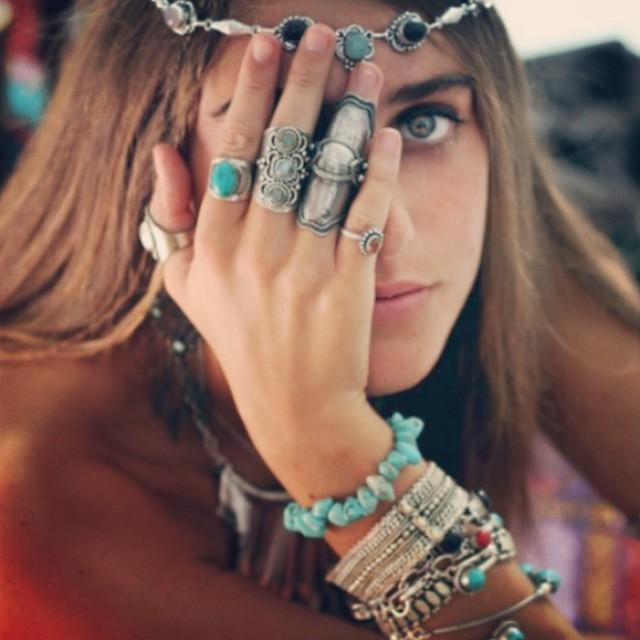 acessórios rusticos moda hippie
