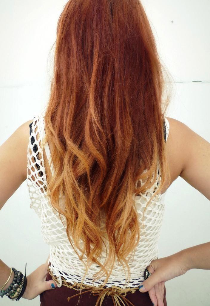 vermelho longo