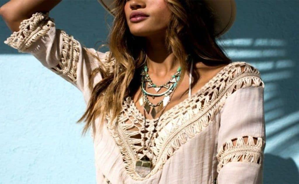 colar moda hippie