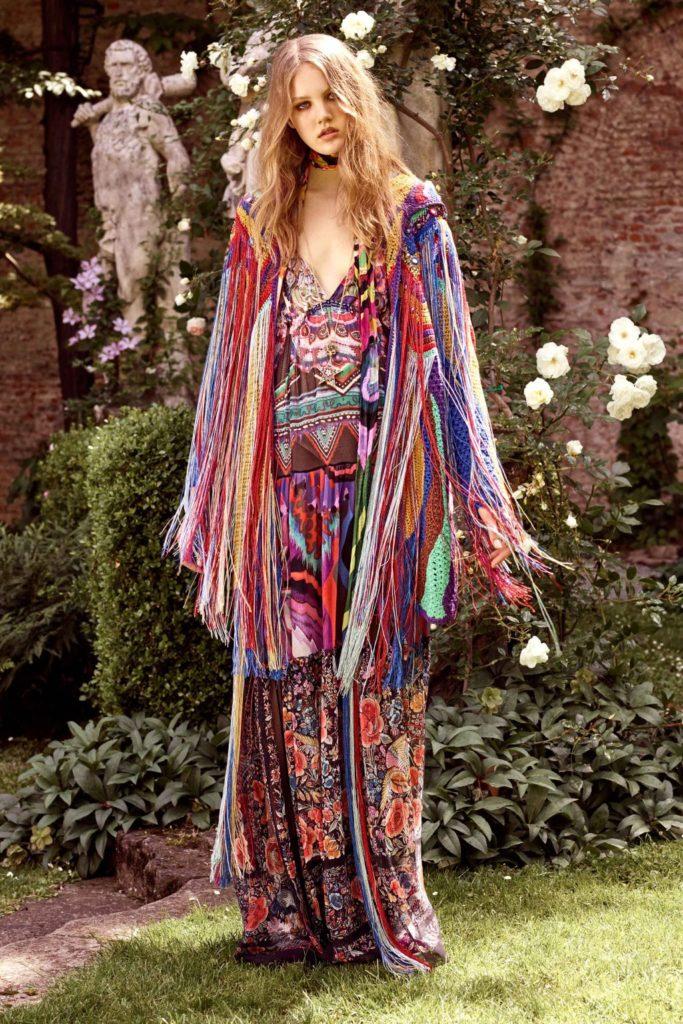 moda hippie vestido colorido