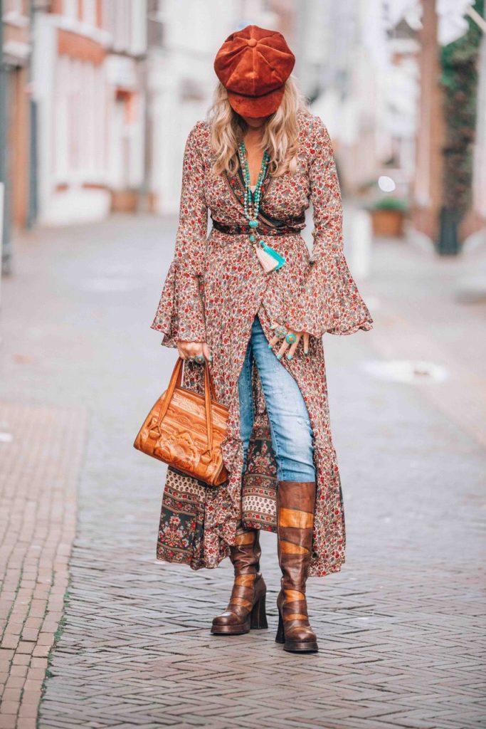 look descolado hippie