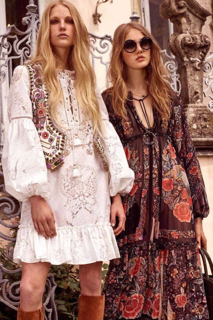 moda hippie longo