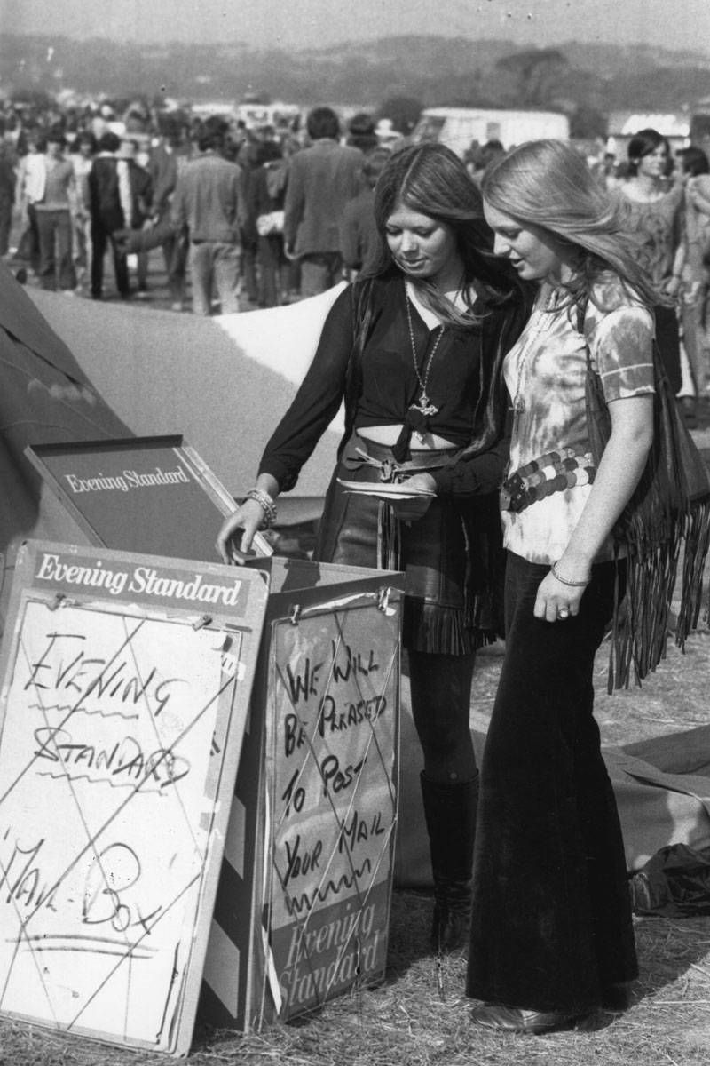 mulher moda hippie anos 60