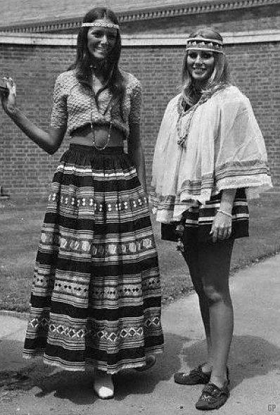 moda hippie anos 60