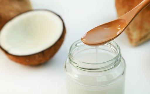 óleo de coco natural caseiro