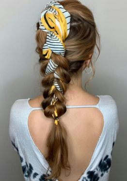 tranças bonitas cabelo loiro