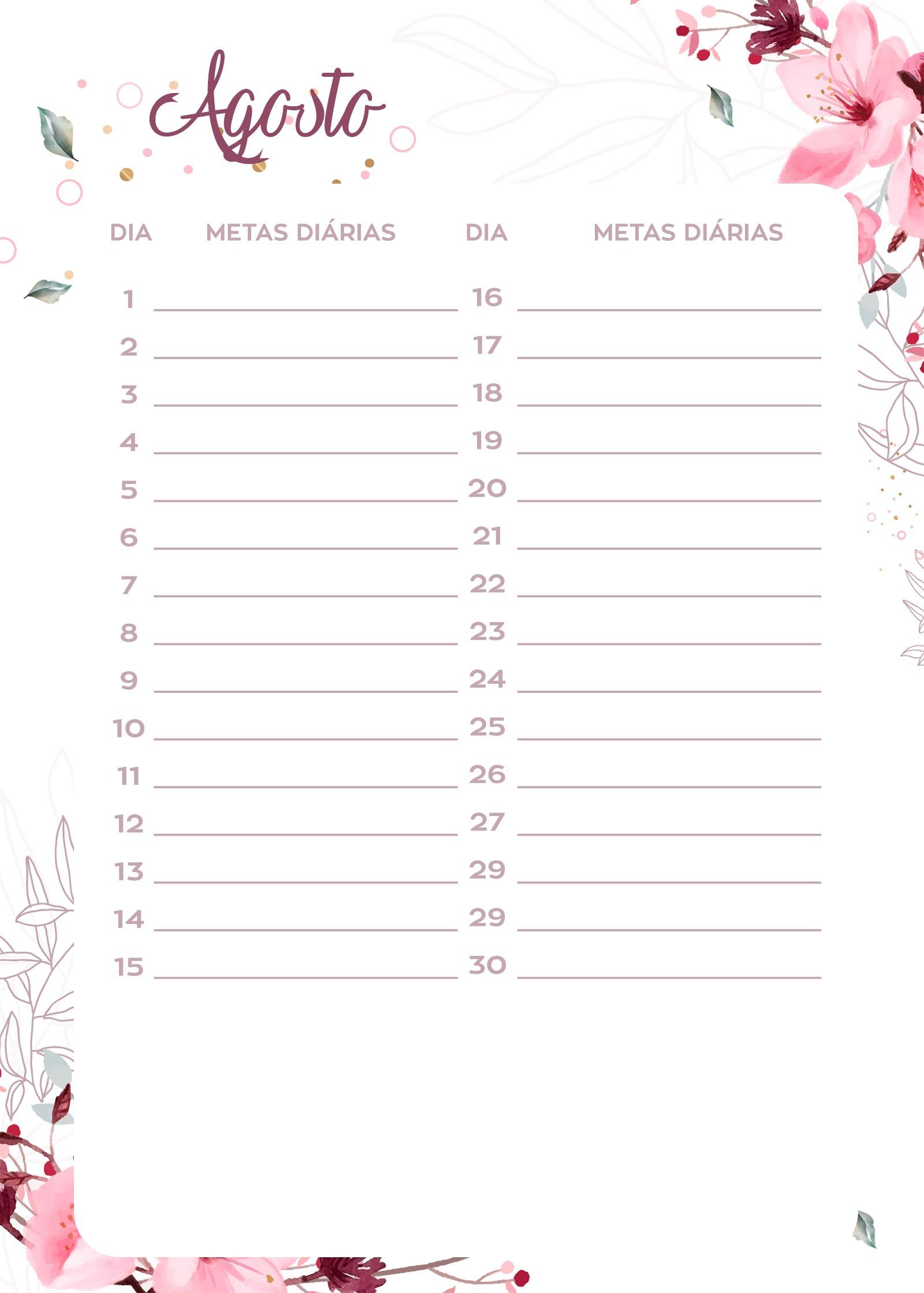 como fazer planejamento anual