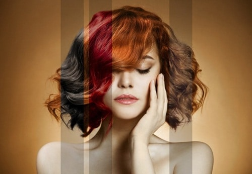 opções de cores para pintar o cabelo em 2020