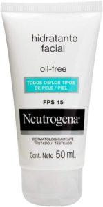 Gel Creme Hidratante Facial Oil Free FPS15 - Neutrogena