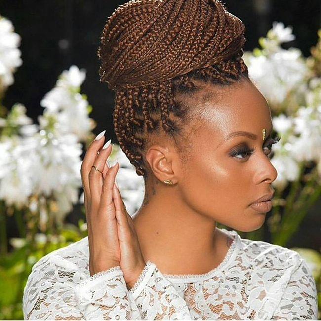 penteados tranças afros casamento