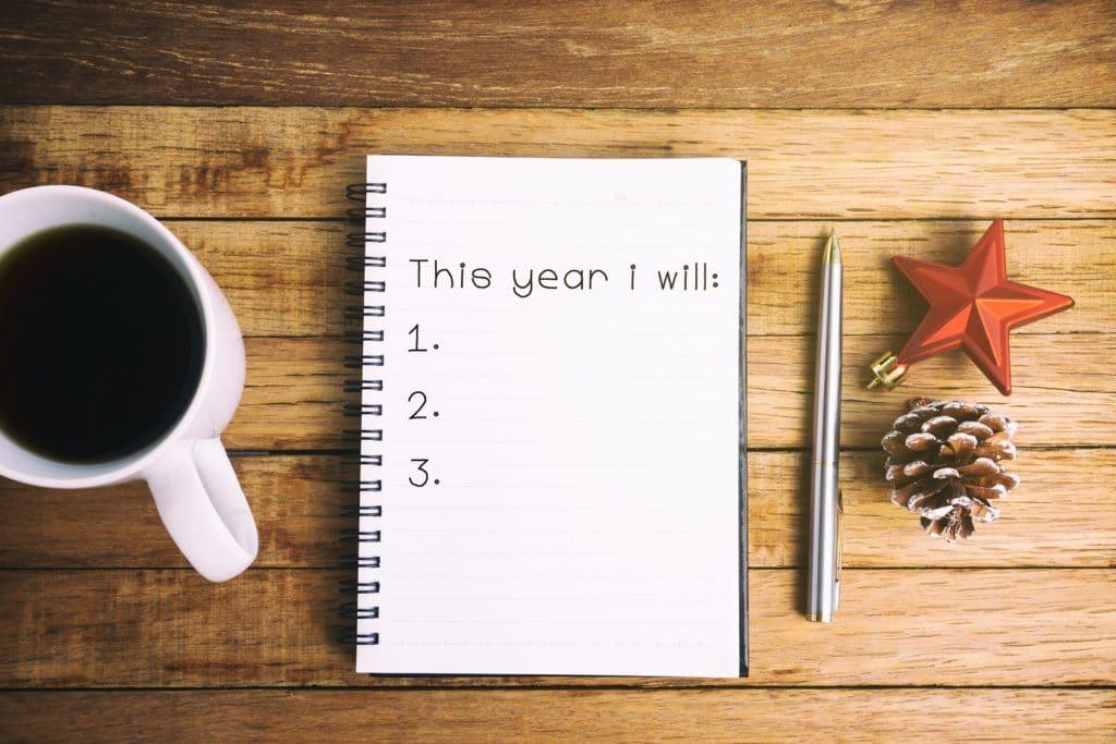 desejos para o ano planner 2020