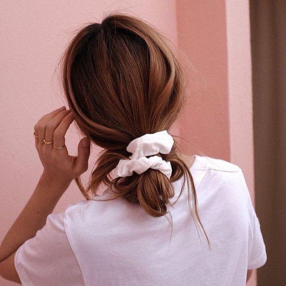 scrunchies branco