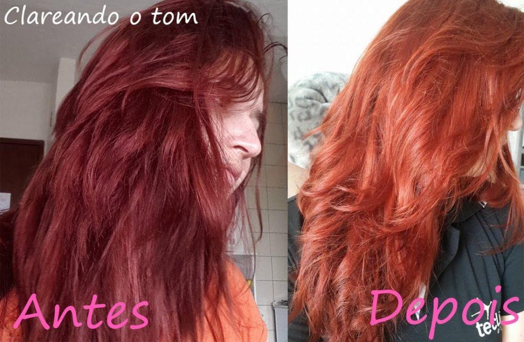 cabelo ruivo shampoozada