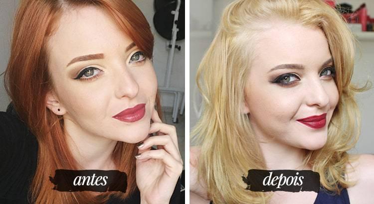 como clarear o cabelo sem danificar