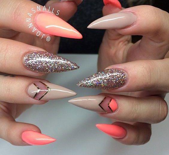 decoração das unhas
