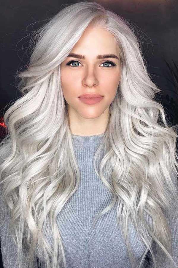 cabelo platinado 2B