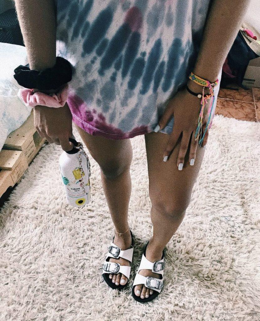 sandália vsco girl