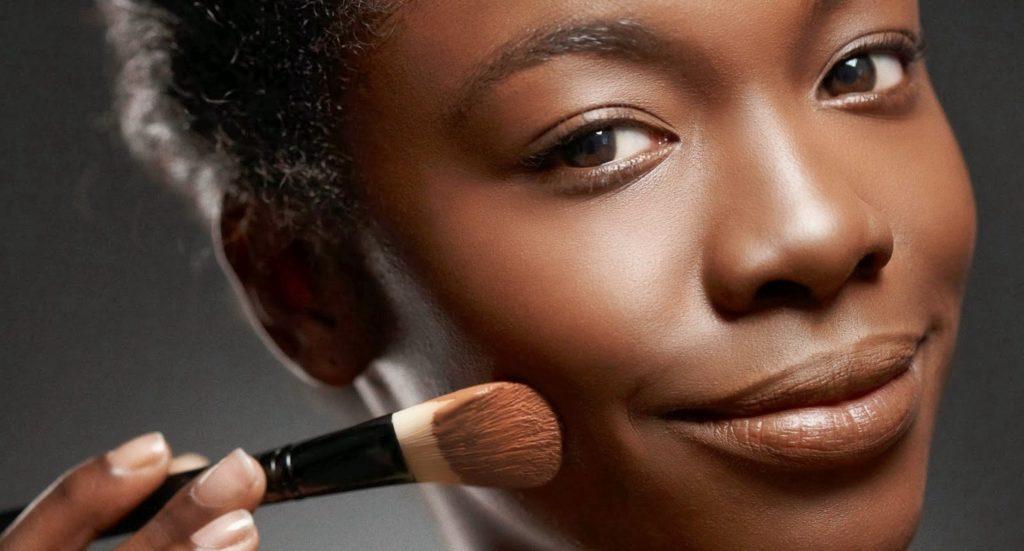 maquiagem para o rosto