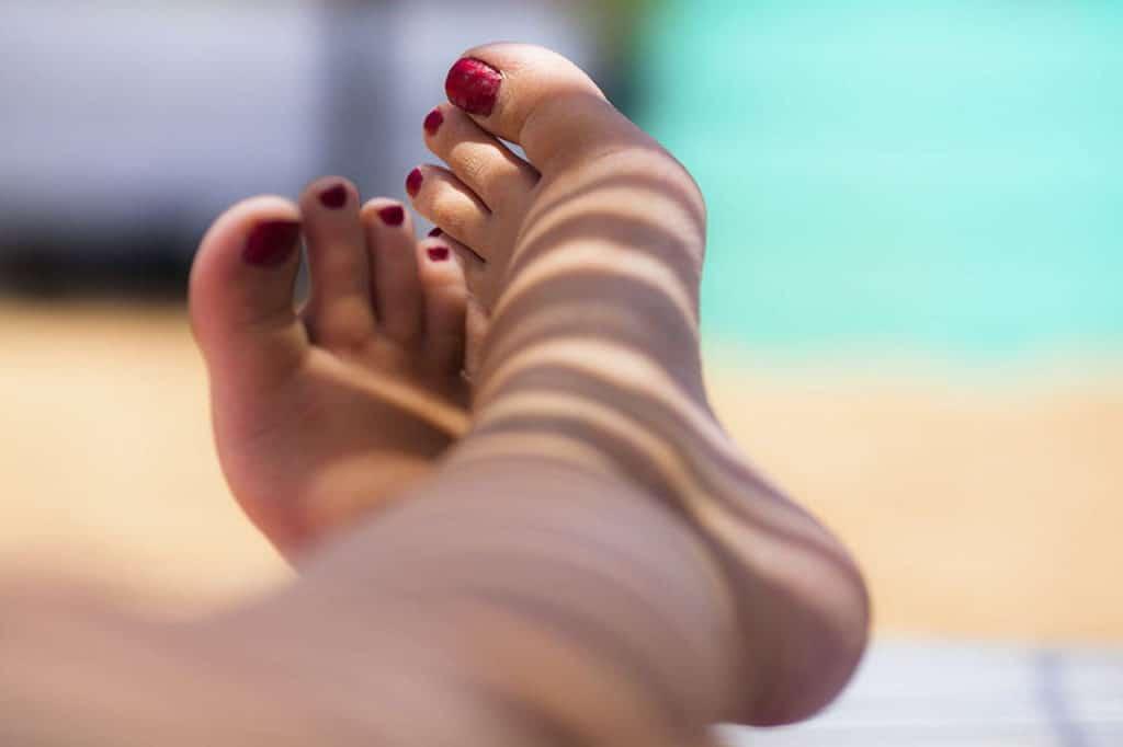como escolher hidratante para os pés